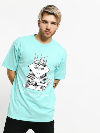 Diamond Supply Co. The Queen T-shirt (diamond blue)