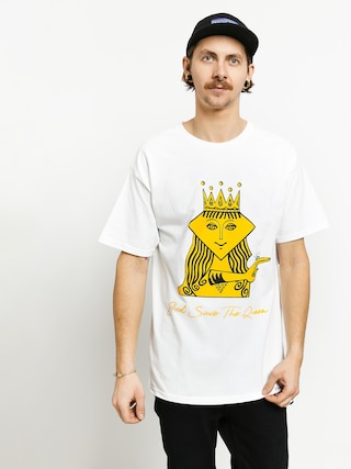 Diamond Supply Co. The Queen T-shirt (white)