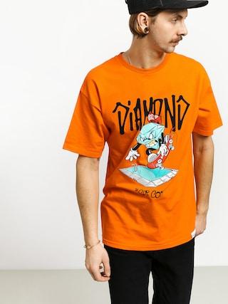 Diamond Supply Co. Sup Pool T-shirt (orange)