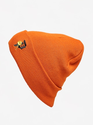 Primitive Sunflower Beanie (orange)