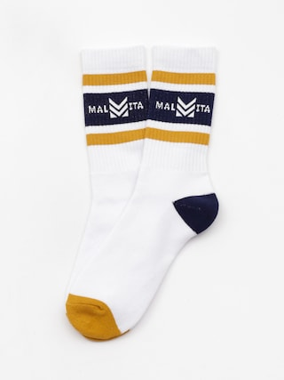 Malita Mlt Royal Socks (white/navy)