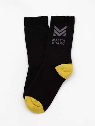 Malita Mlt M Socks (black/yellow)