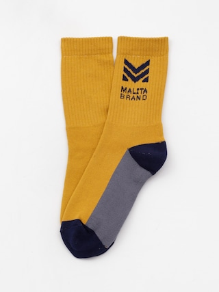 Malita Mlt M Socks (honey/navy)