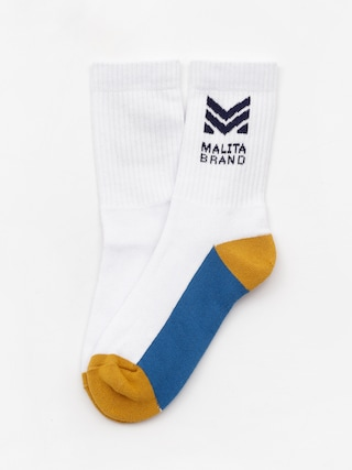 Malita Mlt M Socks (white/honey)