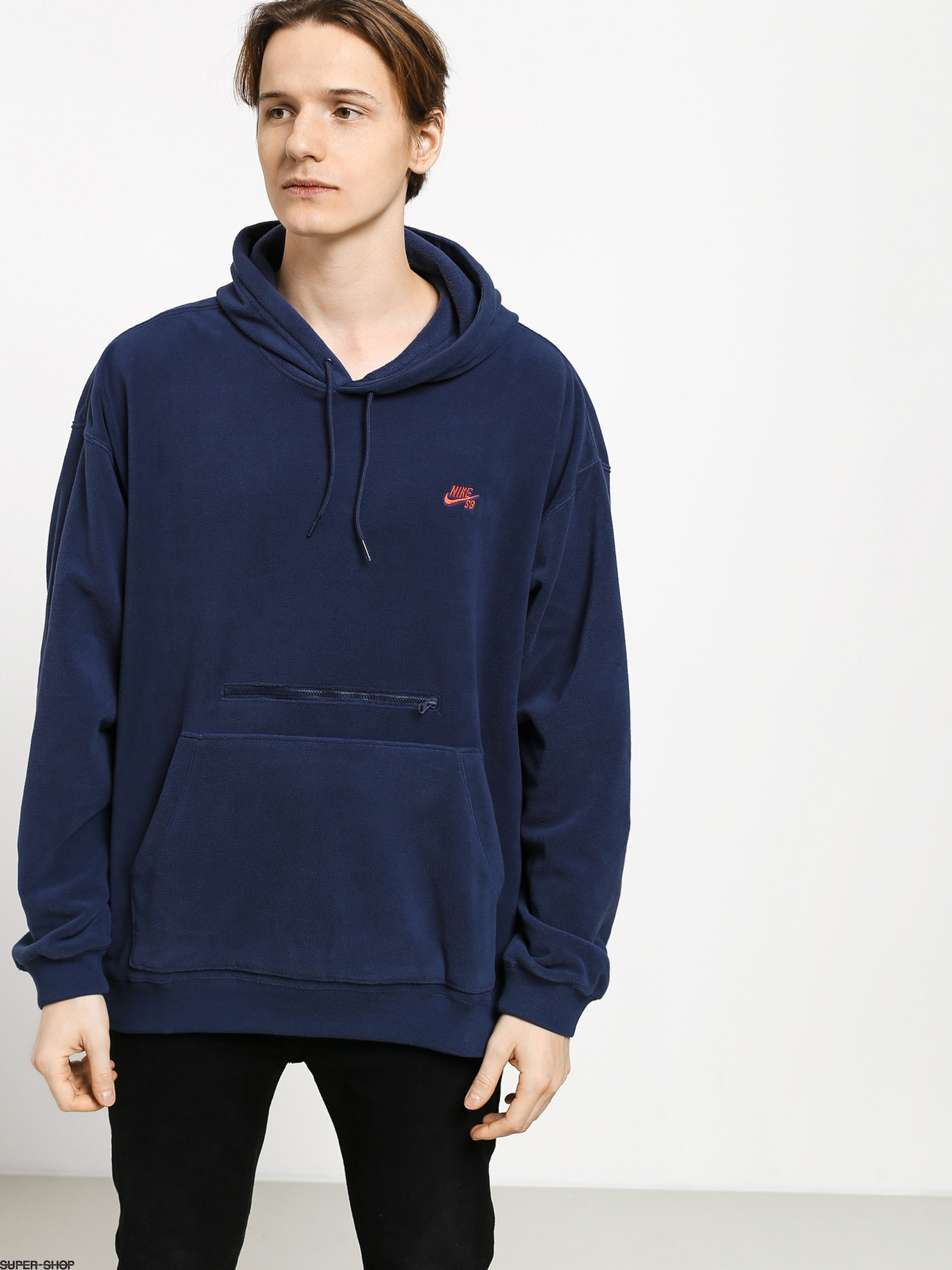 Nike SB Novelty Hoodie BlackWhite