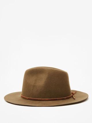Brixton Wesley Fedora Hat (olive)