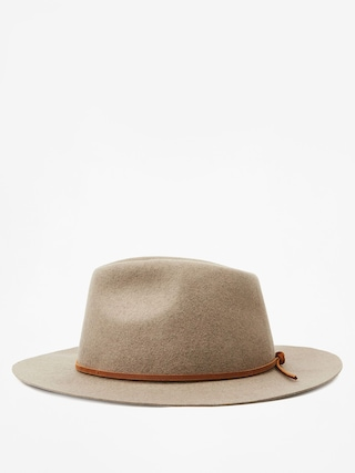 Brixton Wesley Fedora Hat (heather taupe)