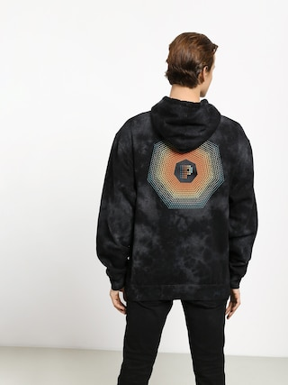 Primitive Particle Crystal Washed HD Hoodie (black)