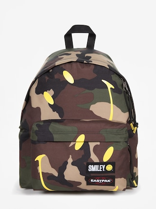 Eastpak Padded Pak R x Smiley Backpack (smile camo)
