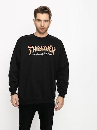Thrasher Calligraphy Sweatshirt (black)