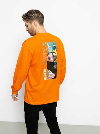 Primitive Naruto Combat Longsleeve (orange)