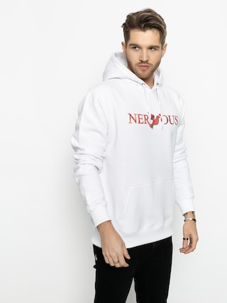 Nervous Classic Acd HD Hoodie (white)