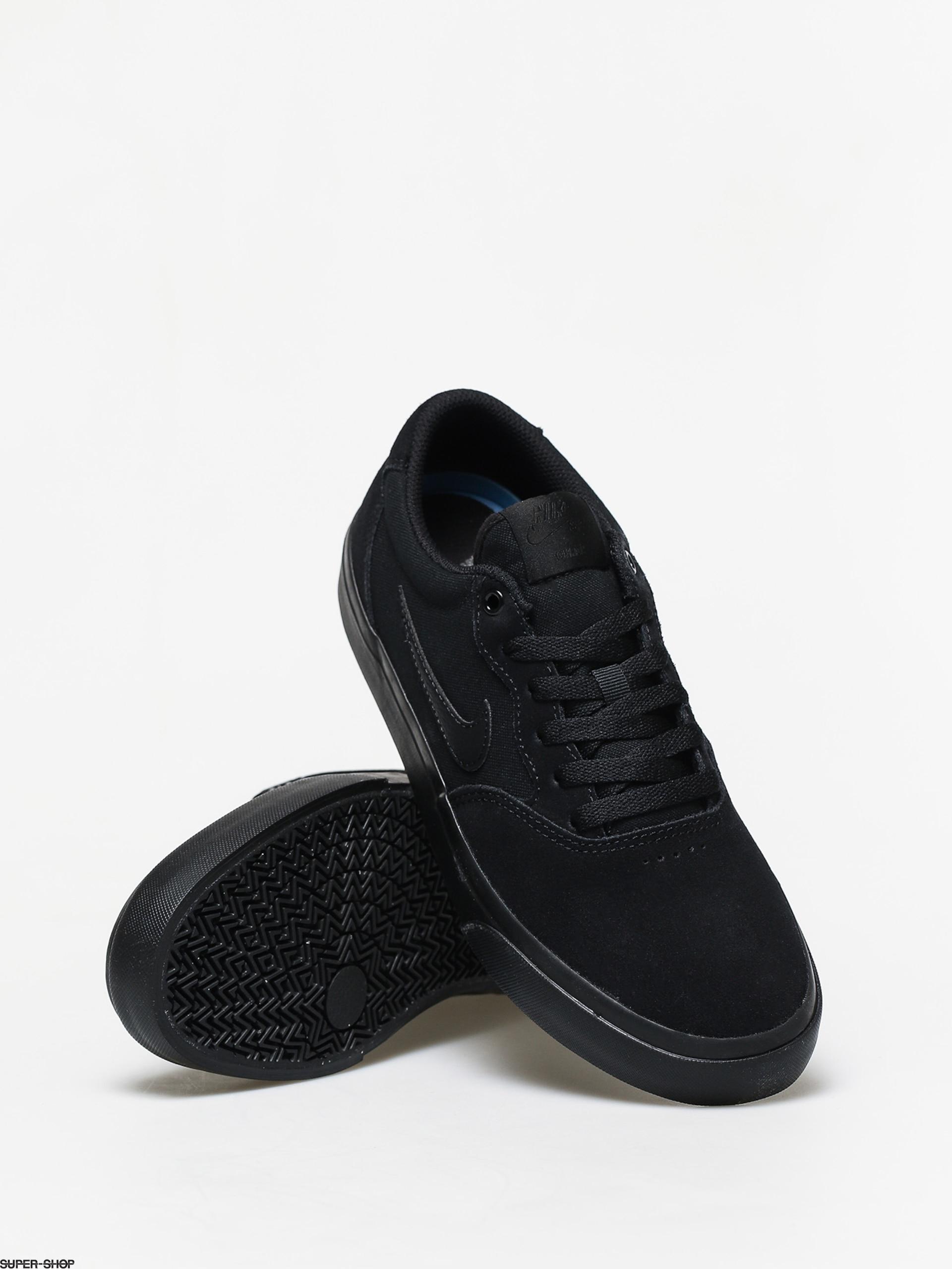 Nike SB Chron Solarsoft Shoes (black/black black black)