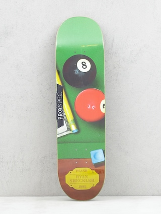 Plan B Sheckler Sureshot Deck (green/brown)