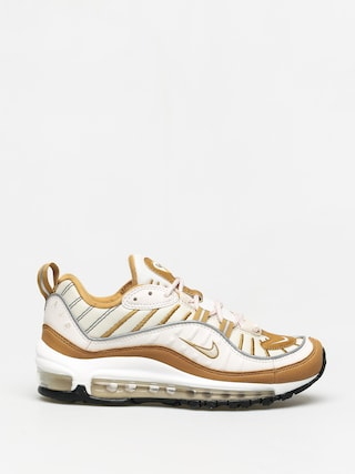 Nike Air Max 98 Shoes Wmn (phantom/beach wheat reflect silver)