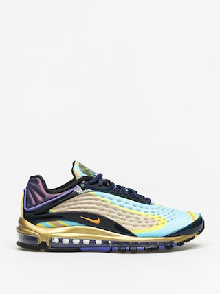 Nike Air Max Deluxe Shoes (midnight navy/laser orange)