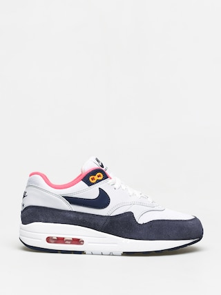 Nike Air Max 1 Shoes Wmn (white/midnight navy pure platinum)