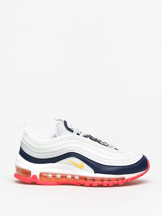 Nike Air Max 97 Shoes Wmn (pure platinum/laser orange midnight navy)