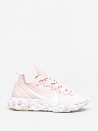 Nike React Element 55 Shoes Wmn (pale pink/white white pale pink)