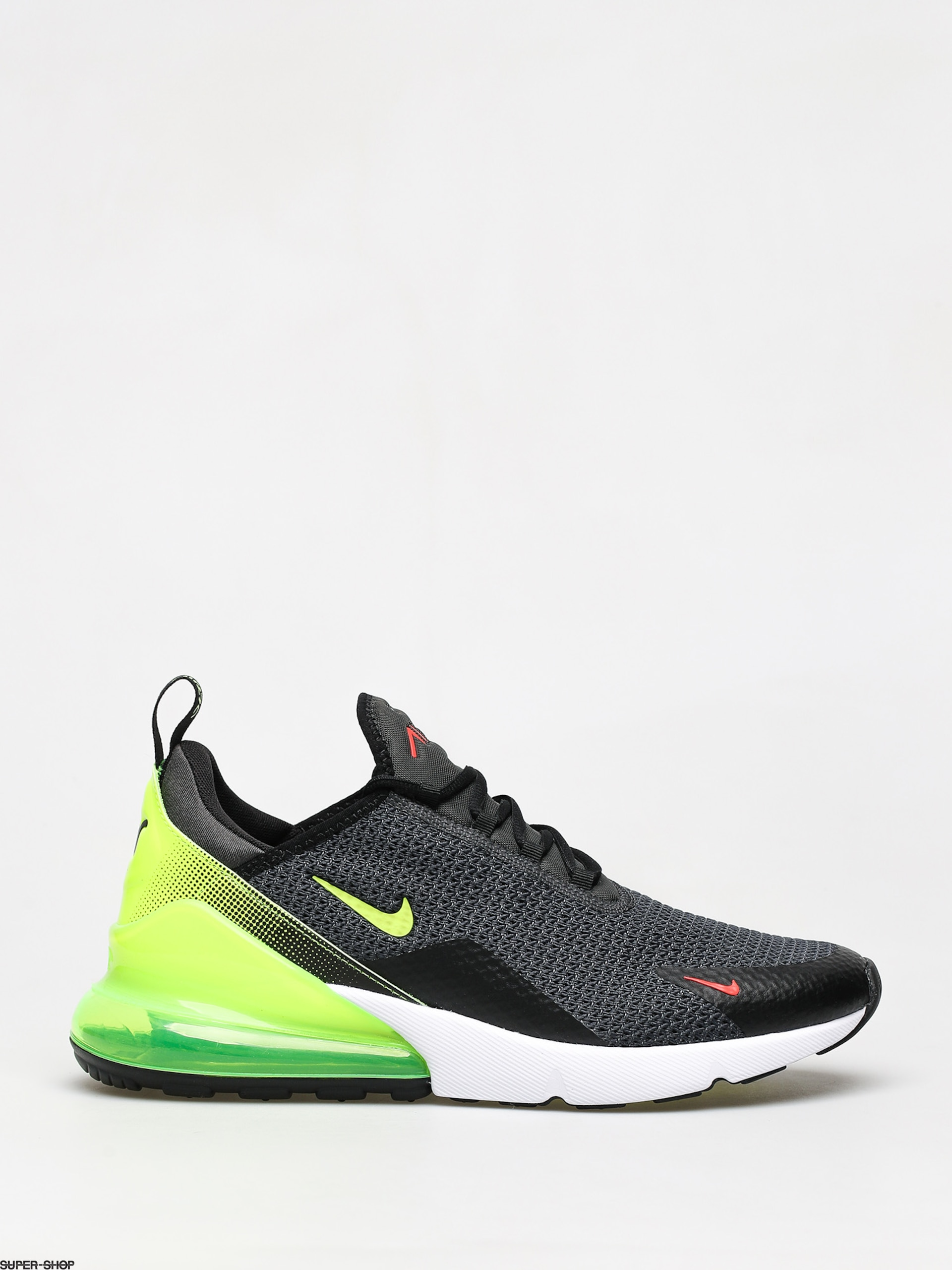 nike air max 270 noir bright crimson enfant