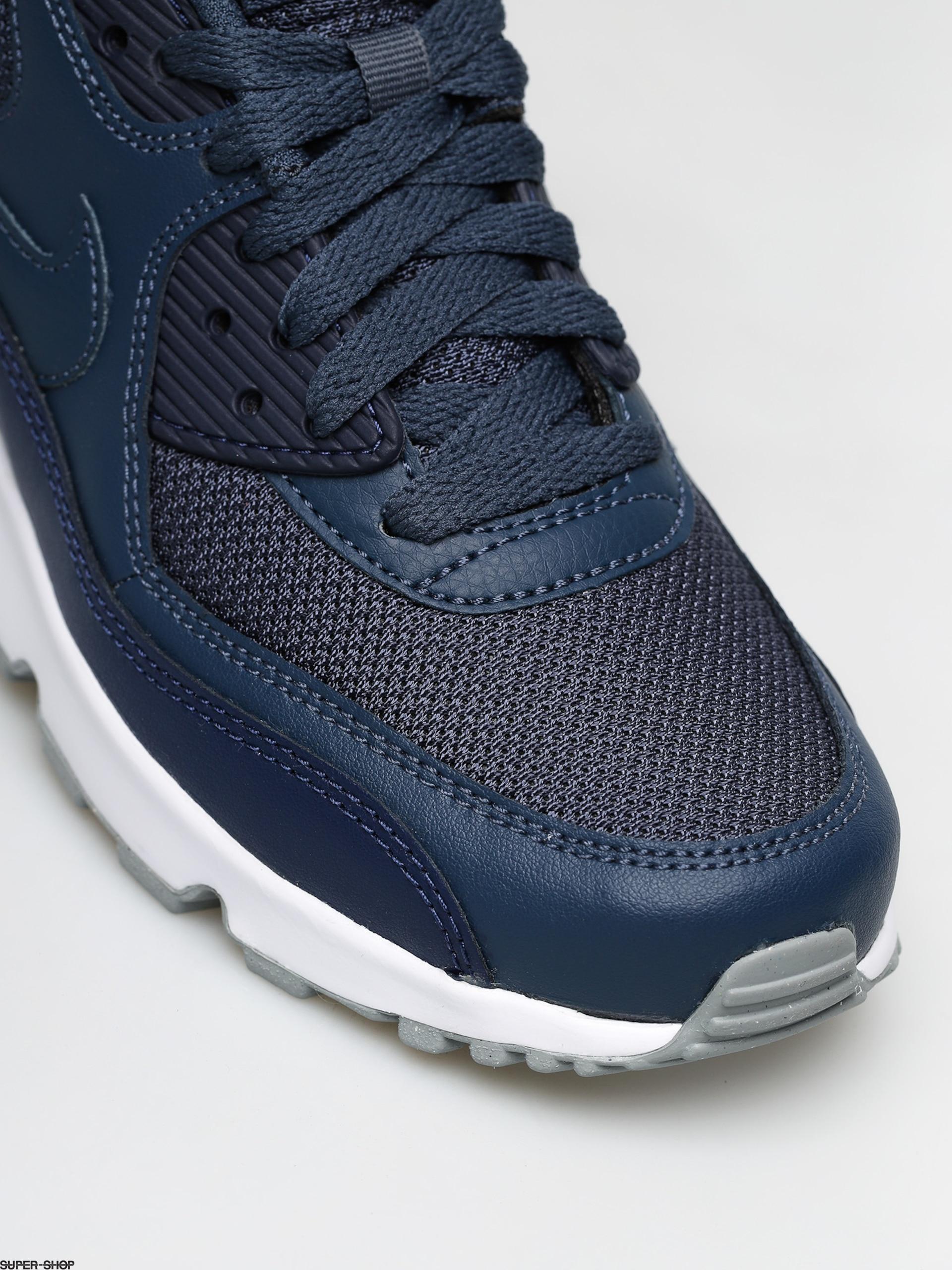 Nike Air Max 90 Mesh (GS) Monsoon Blue Monsoon Blue Midnight Navy   833418 410