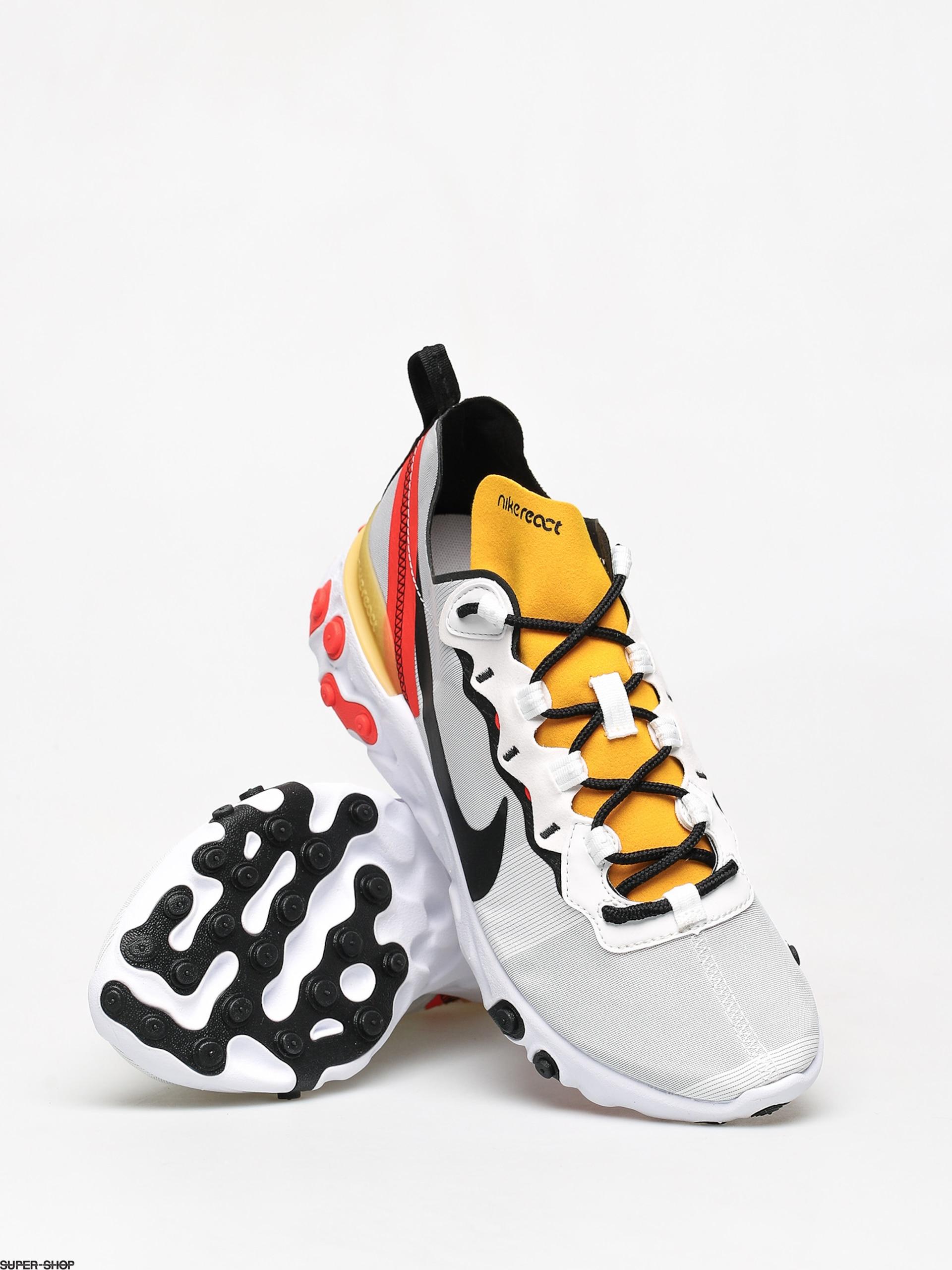 Nike React Element 55 Shoes (white