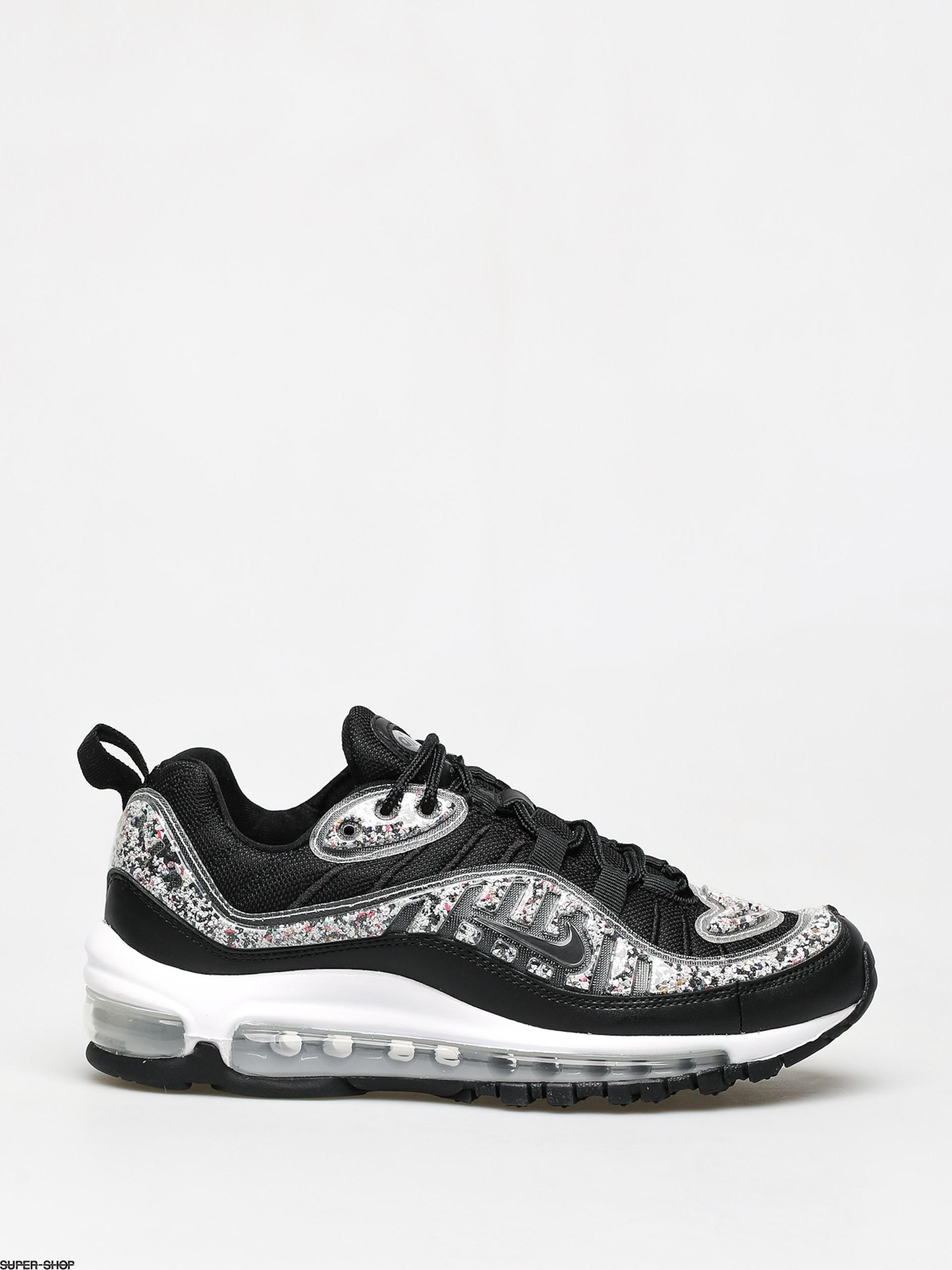 Nike Air Max 98 Lx Wmn Shoes (blackblack white)