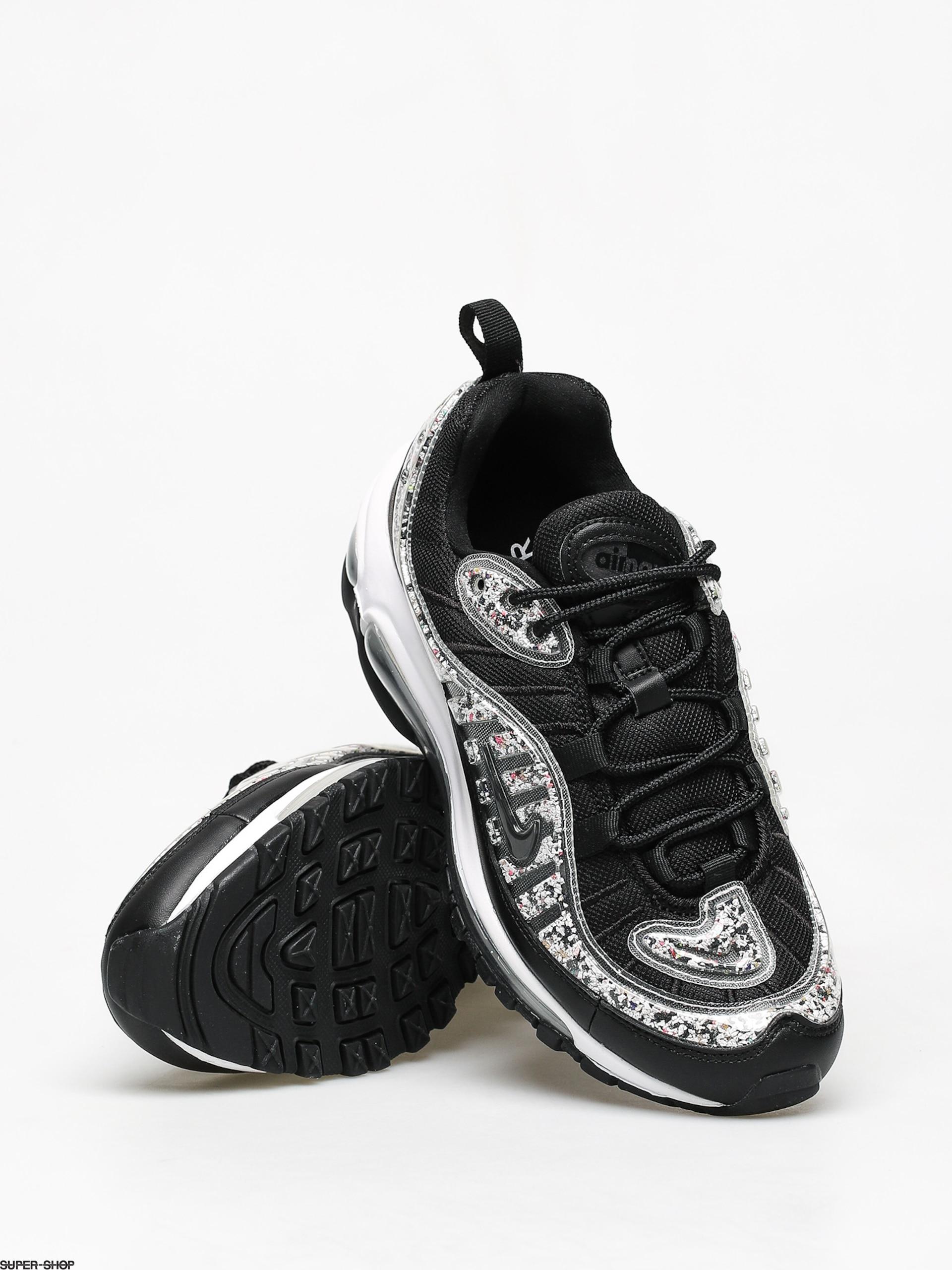 Nike Air Max 98 Lx Wmn Shoes (black/black white)