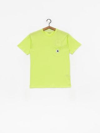 Carhartt WIP Carrie Pocket T-shirt Wmn (lime/ash heather)