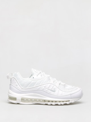 Nike Air Max 98 Shoes (white/pure platinum black reflect silver)