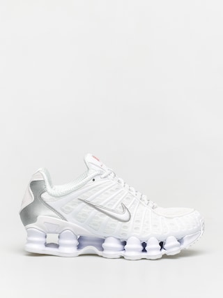 Nike Shox Tl Shoes Wmn (white/white metallic silver)