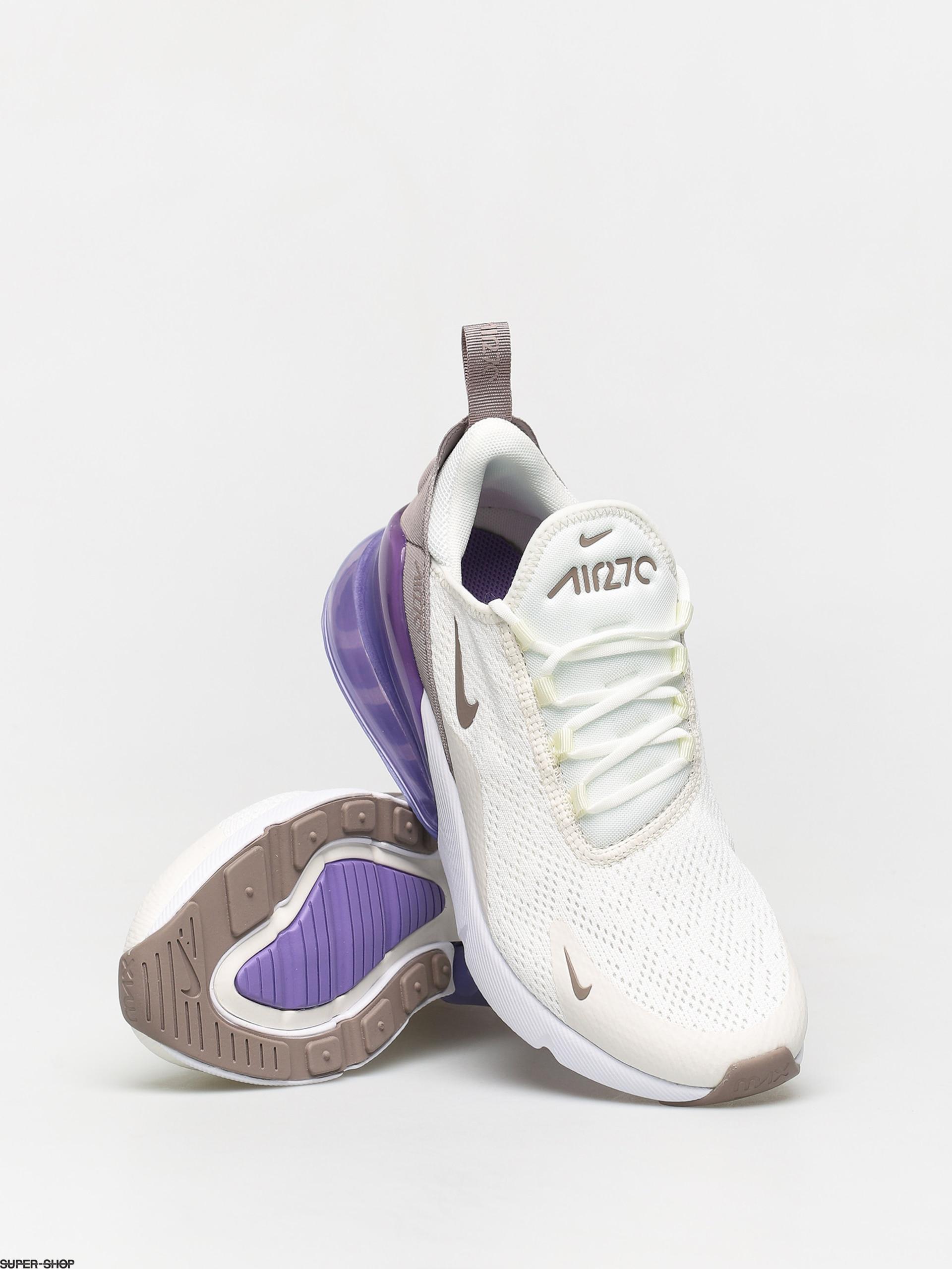 Nike Air Max 270 Shoes Wmn (sailpumice space purple white)