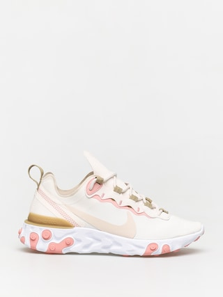 Nike React Element 55 Shoes Wmn (phantom/lt orewood brn parachute beige)