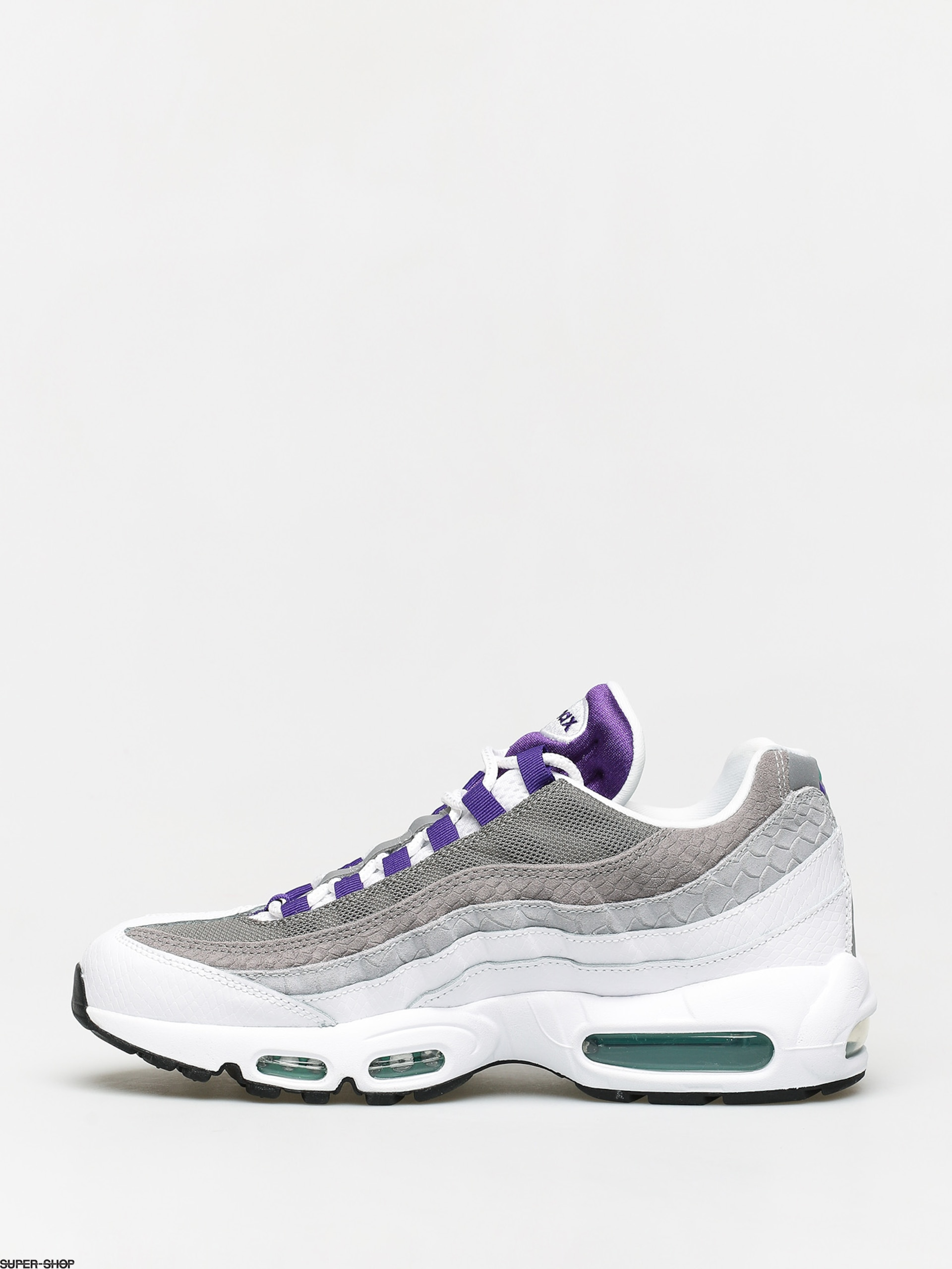 Nike Air Max 95 Lv8 Shoes (whitecourt purple emerald green)
