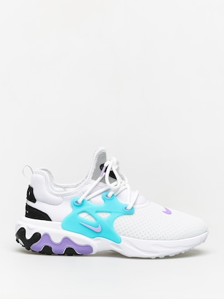 Nike React Presto Shoes (white/night maroon black atomic violet)
