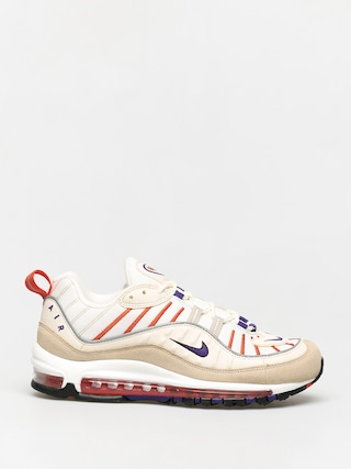 Nike Air Max 98 Shoes (sail/court purple light cream desert ore)