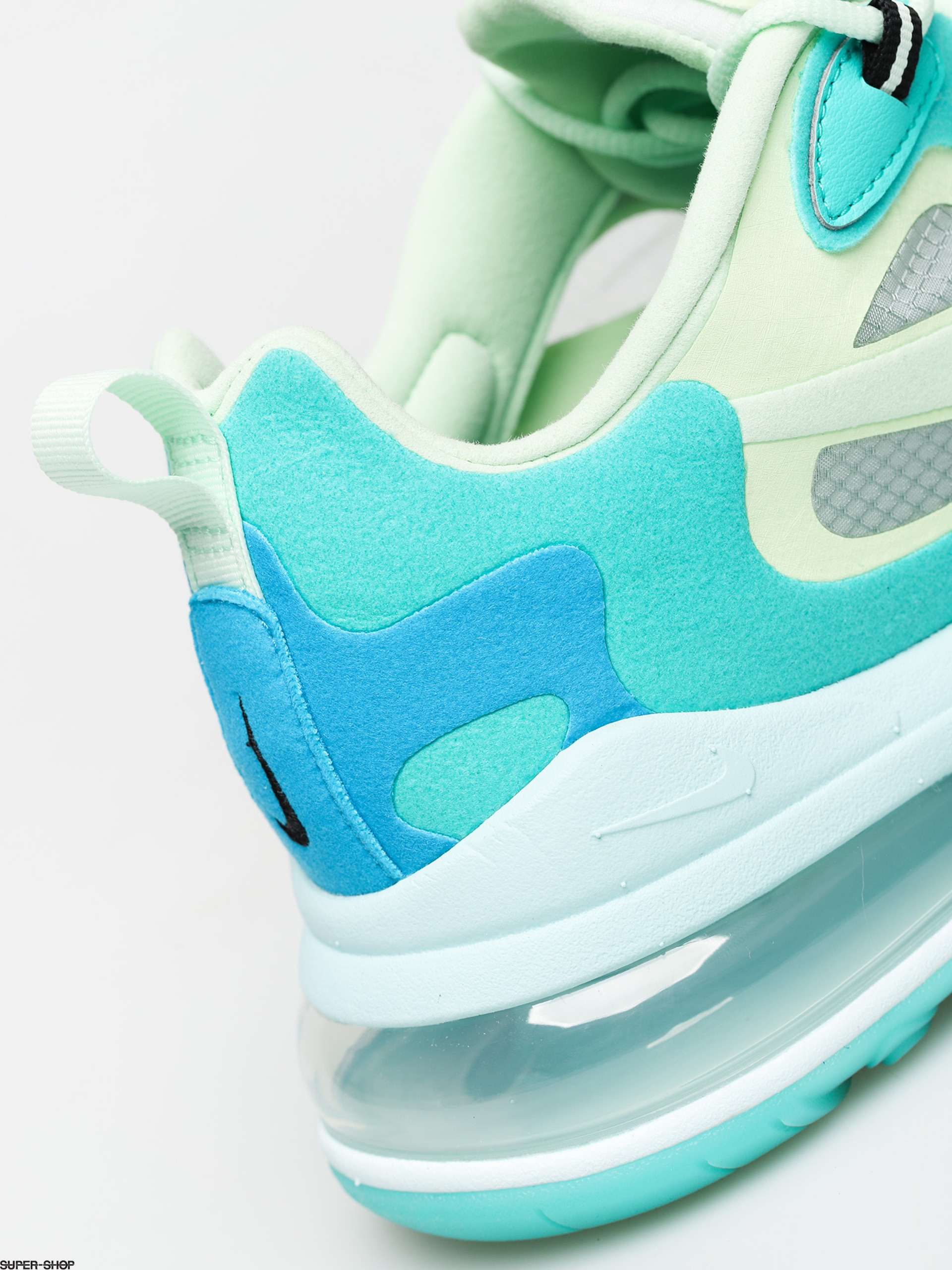 Nike Air Max 270 React Shoes (hyper jadefrosted spruce barely volt)