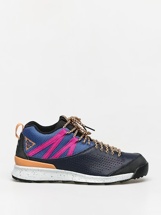 Nike Okwahn II ACG Shoes (obsidian/fuel orange indigo force)