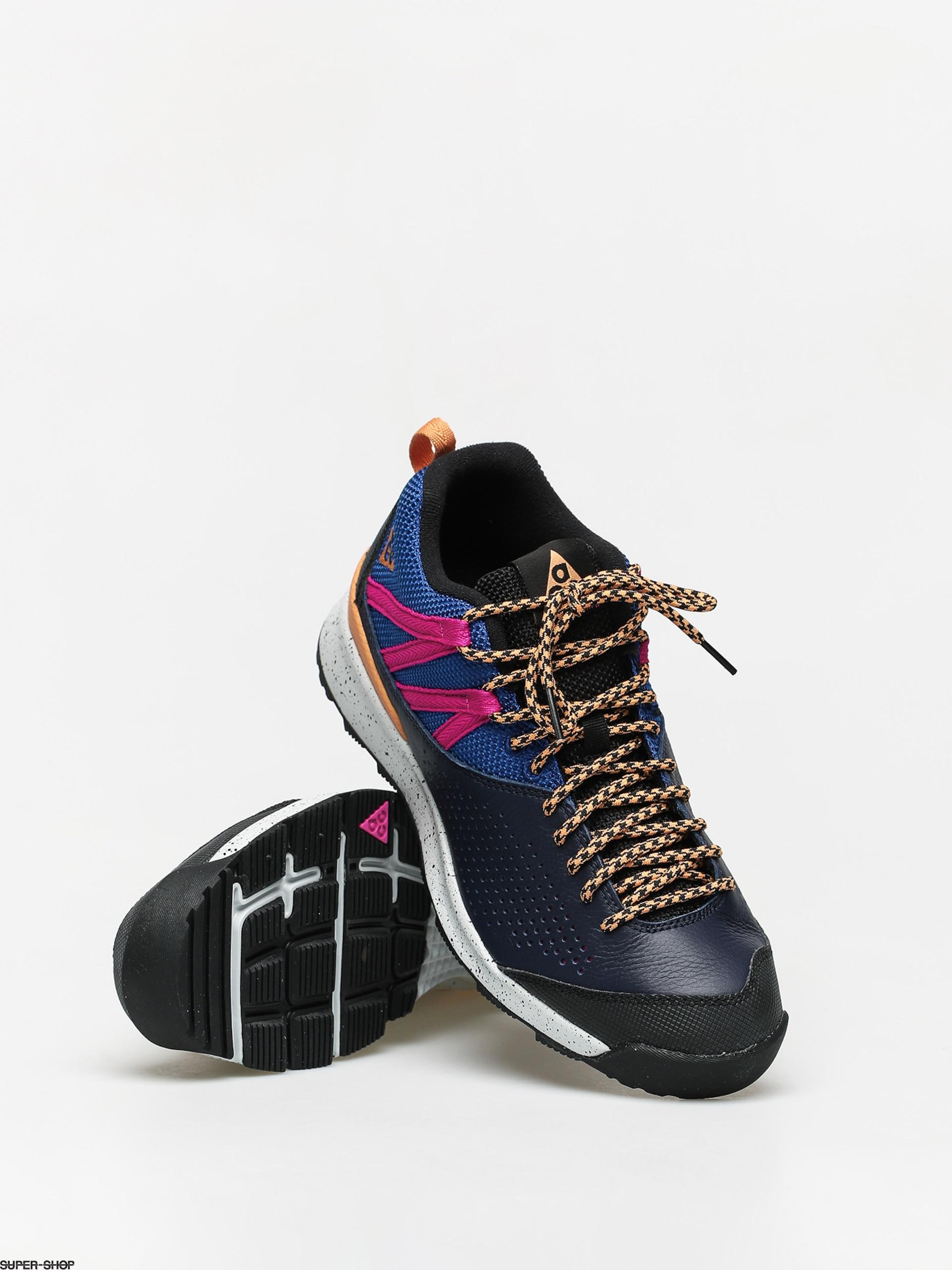 Político Refinería Una noche  Nike Okwahn II ACG Shoes (obsidian/fuel orange indigo force)