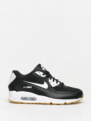 Nike Air Max 90 Shoes Wmn (black/white gum light brown white)