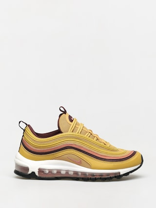 Nike Air Max 97 Shoes Wmn (wheat gold/terra blush burgundy crush)