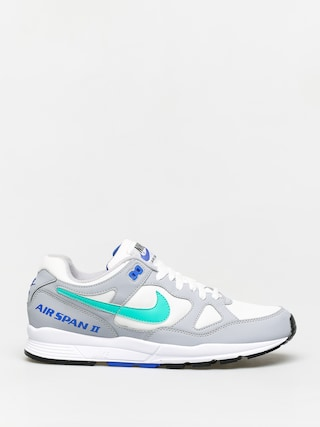 Nike Air Span II Shoes (wolf grey/clear emerald white racer blue)