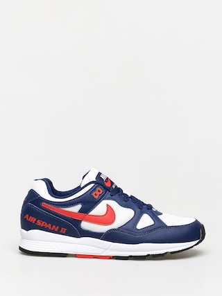 Nike Air Span II Shoes (blue void/habanero red white black)