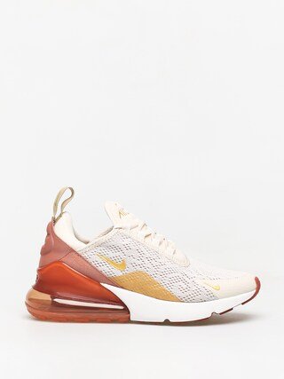 Nike Air Max 270 Shoes Wmn (light cream/metallic gold terra blush)