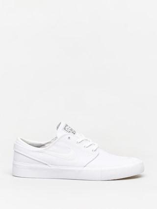 Nike SB Zoom Janoski Canvas Rm Shoes (white/white gum light brown black)