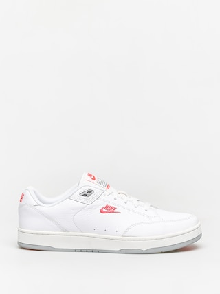 Nike Grandstand II Premium Shoes (white/solar red wolf grey)