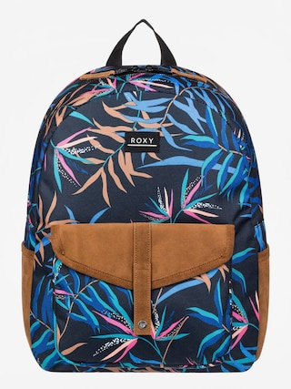 Roxy Carribean Backpack Wmn (anthracite wild leaves)