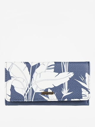 Roxy Hazy Daze Wallet Wmn (mood indigo flying flowers s)