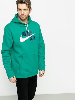 Nike SB Icon HD Hoodie (neptune green/white)