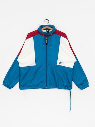 Nike Sportswear Jacket (green abyss/team red/sail/green abyss)